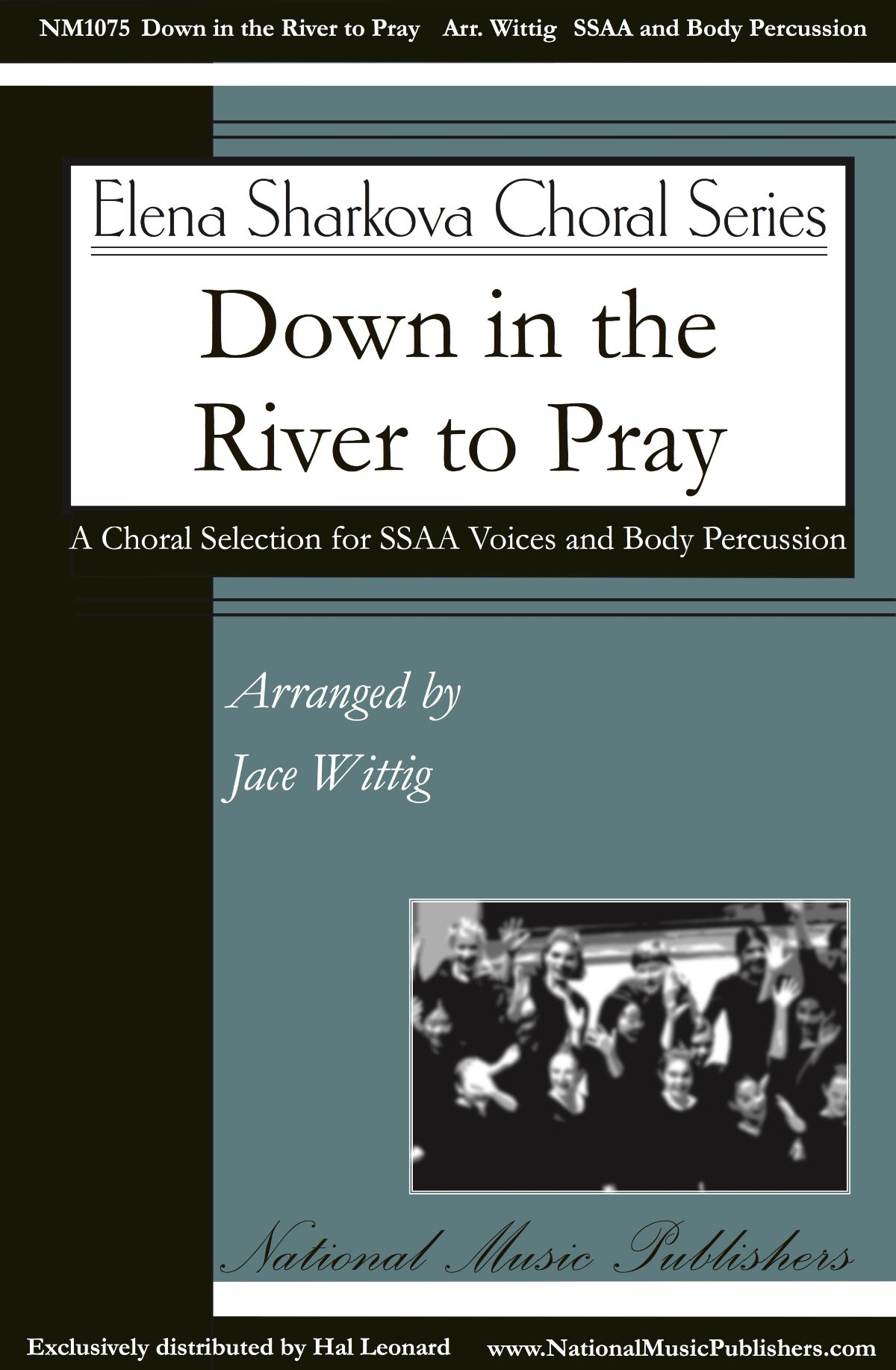 Down in the River to Pray Choral Sheet Music